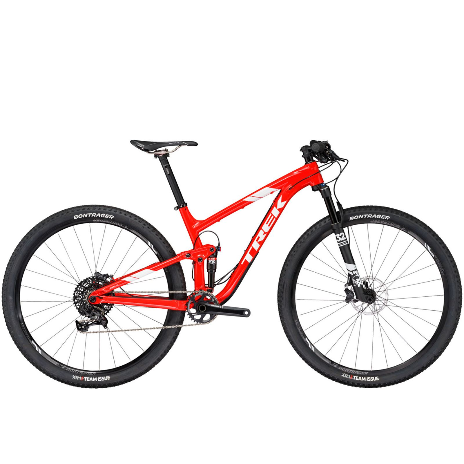 TREK TOP FUEL 9 T17.5 ROJO UPGRADE GX EAGLE 2017 Azken Kilometroa