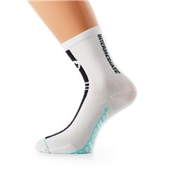 CALCETIN ASSOS INTERMEDIATE S7 BLANCO